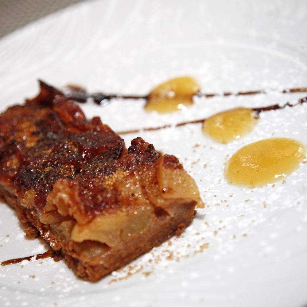 Tarta de manzana la Cuina de Karlos Escoto